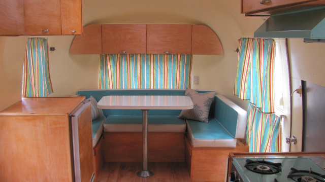 Vintage Airstream Bunk Beds